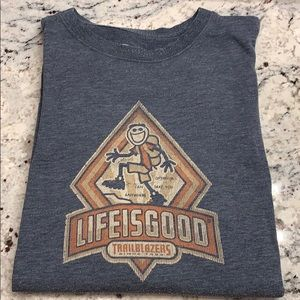 Life Good Cotton Blend LS Tee Size L